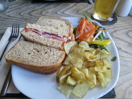 The Windmill at Badby: Ham Sandwich
