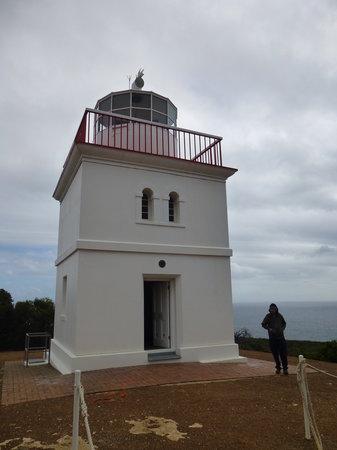 Cape Borda Lightstation : Unique shape of lighthouse