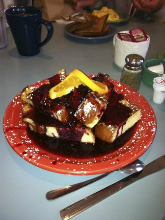 The Grateful Bread Bakery & Restaurant : French toast!