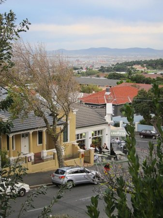 Acorn House: View of Cape Town from balcony