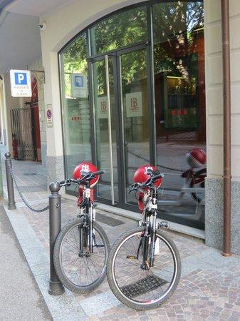 Hotel Belvedere Bellagio: Entrance