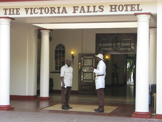The Victoria Falls Hotel: Welcome at Victoria Falls Hotel
