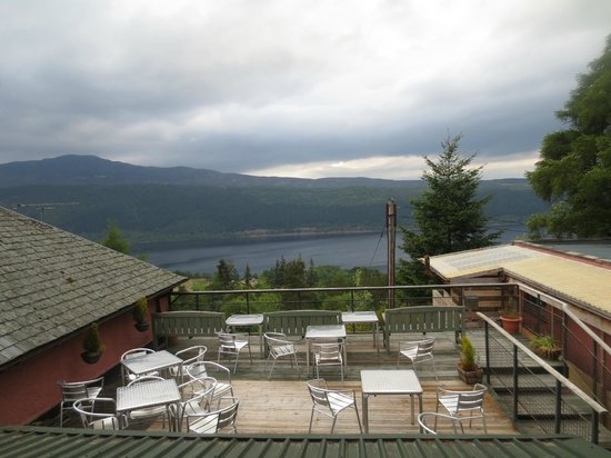 Foyers House: Gorgeous view of Loch Ness