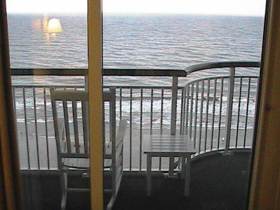 Hampton Inn & Suites Myrtle Beach/Oceanfront : Balcony from Room