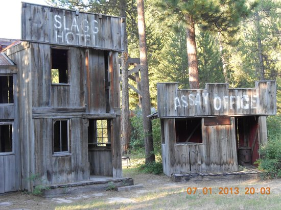Nugget RV Park : Ghost town for the kids!