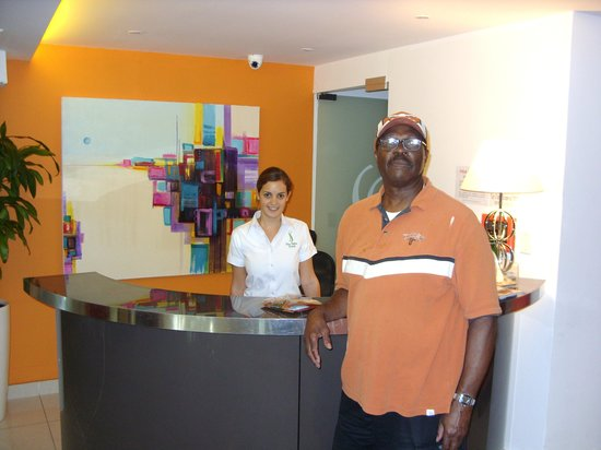 The Saba Hotel: Great Staff