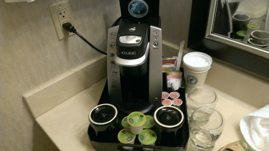 Holiday Inn Little Rock-Airport-Conf Ctr: Keurig!!!