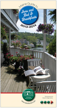 Harbour Towne Inn on the Waterfront: Please help us celebrate the cover of Maine Tourism Association for Bed and Breakfasts of Maine!
