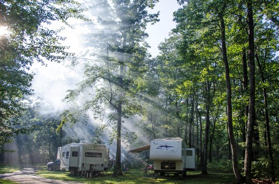 Campers Paradise: Good Morning, Campers!!
