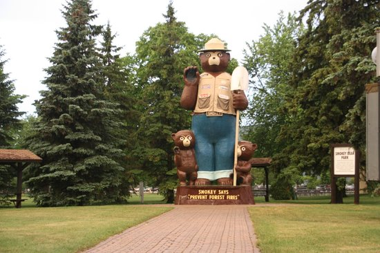 Smokey Bear Park - International Falls, MN