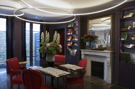 Hotel & Spa La Belle Juliette : Dining Area
