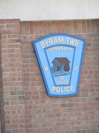 Byram, NJ : Sign on the Police Dept.