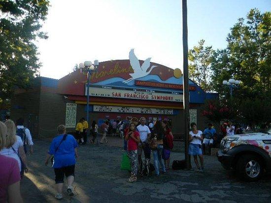 Shoreline Amphitheatre: ticket sales office