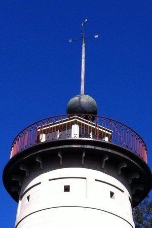 The Old Windmill: the top of the tower
