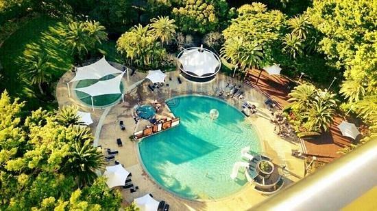 RACV Royal Pines Resort: Pool {ariel view}