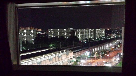 Urayasu Brighton Hotel: 部屋から見た夜景
