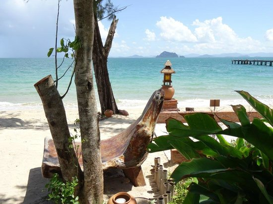 Santhiya Koh Yao Yai Resort & Spa : View from bar area