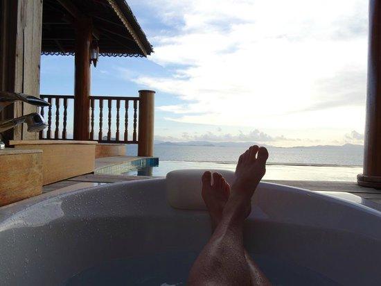 Santhiya Koh Yao Yai Resort & Spa : Bath