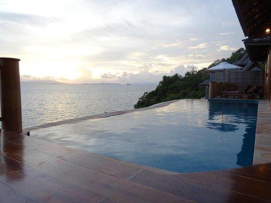Santhiya Koh Yao Yai Resort & Spa : Infinity pool