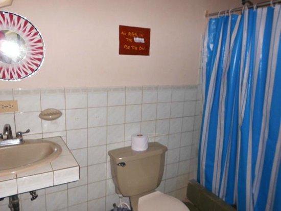 Hotel Kangaroo: Private bathroom