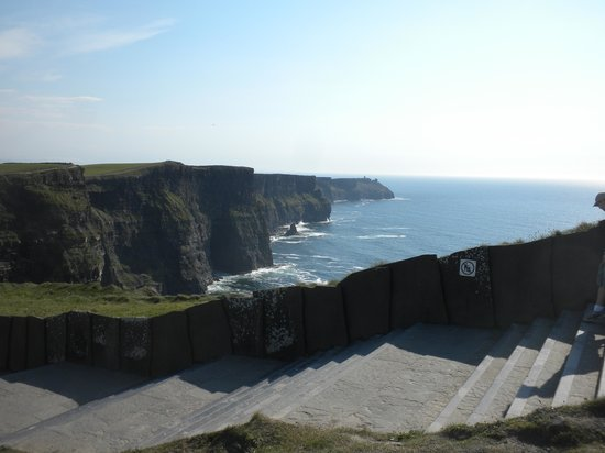 Cliffs Of Moher: Some Of The Stairs, Ramp Alongside