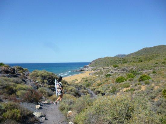 Playa de Calblanque: wlak 5 minutes