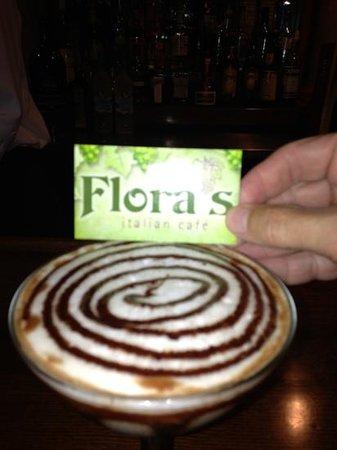 Flora's Italian Cafe: Branco's best chocolate martini!!