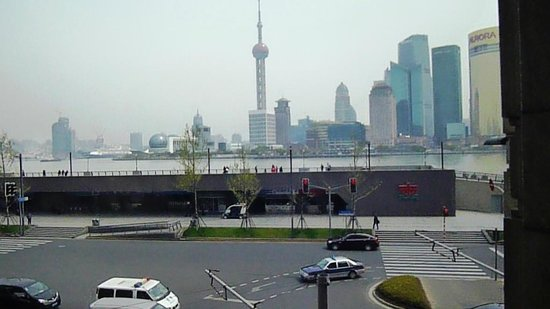 Les Suites Orient, Bund Shanghai : View of the Bund from breakfast loune