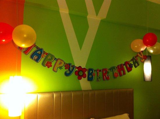 Ibis Styles KL Cheras: Happy Birthday!