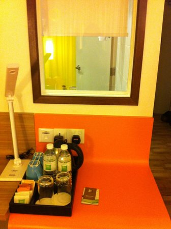Ibis Styles KL Cheras: From the bed room look into the bathroom