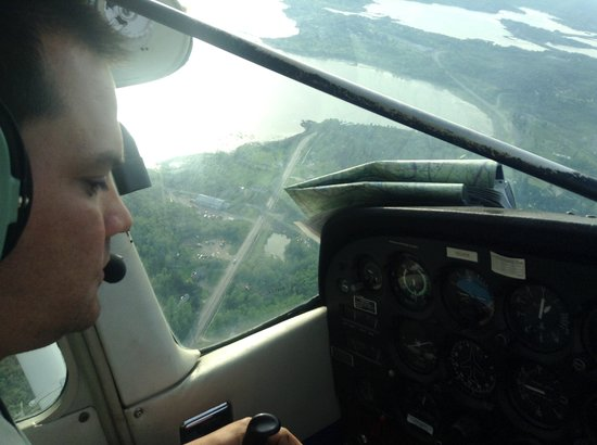 Waterville, ME: Take thecontrols of an airplane
