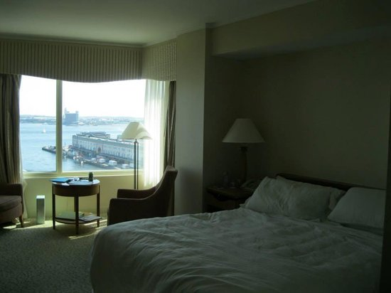 Seaport Hotel: our room with a view