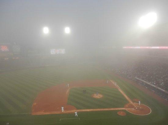 Fog Delay at US Cellular Field