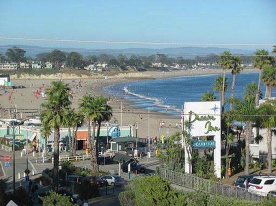 West Cliff Inn, a Four Sisters Inn: View of beach from Room