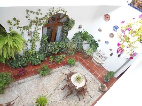 San Miguel: Main courtyard