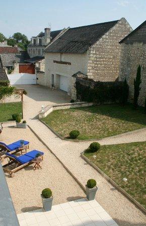 Domaine du Heron: Courtyard