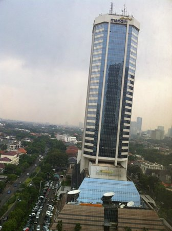 Mandarin Oriental Jakarta: this what you can also see from your room
