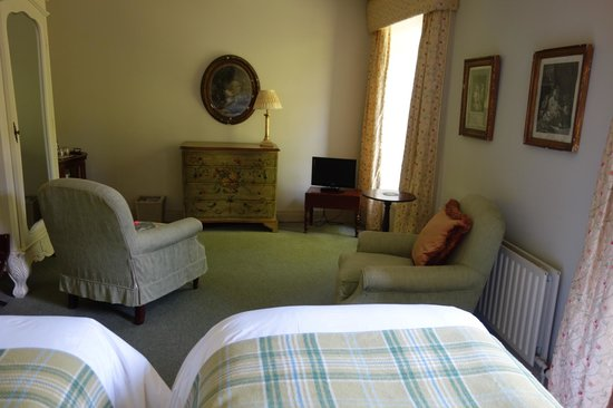 Bantry House B&B: Sitting area room 21
