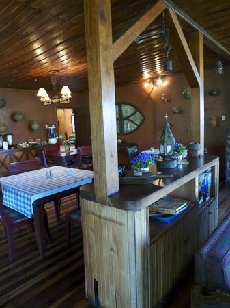 Hacienda Manteles: Breakfast / Dining area