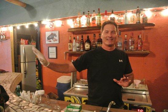 The Shack Restaurant and Bar: Owner, Harry Baker