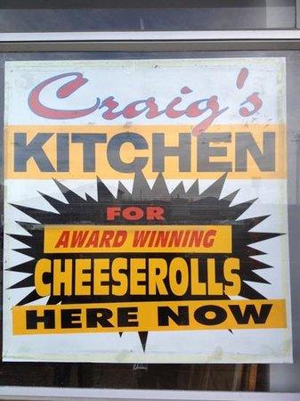 Craig's Kitchen: Award Winning Cheeserolls