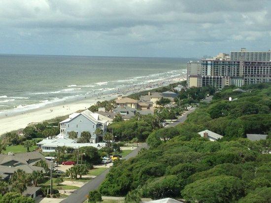 Myrtle Beach Marriott Resort & Spa at Grande Dunes: View from 14th Floor