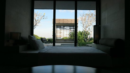 Alila Villas Uluwatu: ...and it's equally comfy DAY bed.