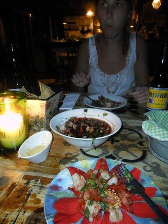 El Tábano: ceviche