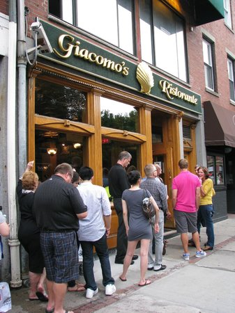 As Per Usual: Lined Up to Eat at Giacomo's