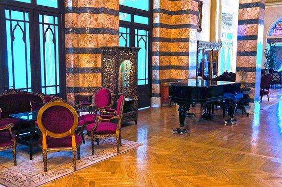 Pera Palace Hotel: Лобби