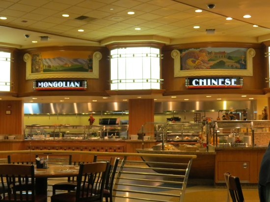 Ports O' Call Buffet: different stations