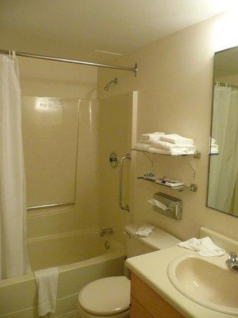 Embassy Inn: Bathroom