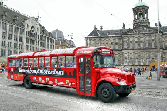 tourist bus picture of amsterdam city tours day tours amsterdam tripadvisor. Black Bedroom Furniture Sets. Home Design Ideas