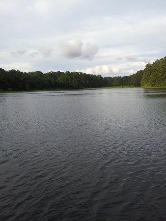 Huntsville State Park: lake raven